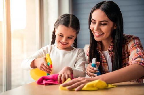 Actividades que tus hijos pueden hacer en casa de acuerdo a su edad