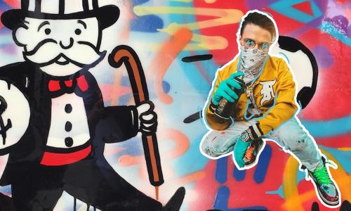 Alec Monopoly: Graffiti hecho arte