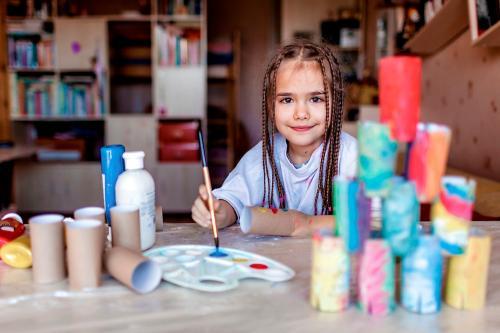 Cómo inculcar el amor por el arte en los niños