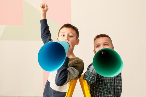 Consejos para ayudar a tus hijos a hablar con seguridad