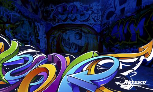 DIY: Dibuja estilo graffiti