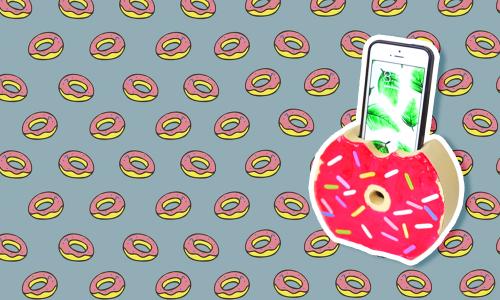 DIY: Holder de donut para celular