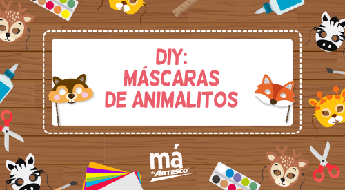 DIY: Máscaras de animalitos