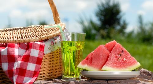 Nota: Diy picnic de verano