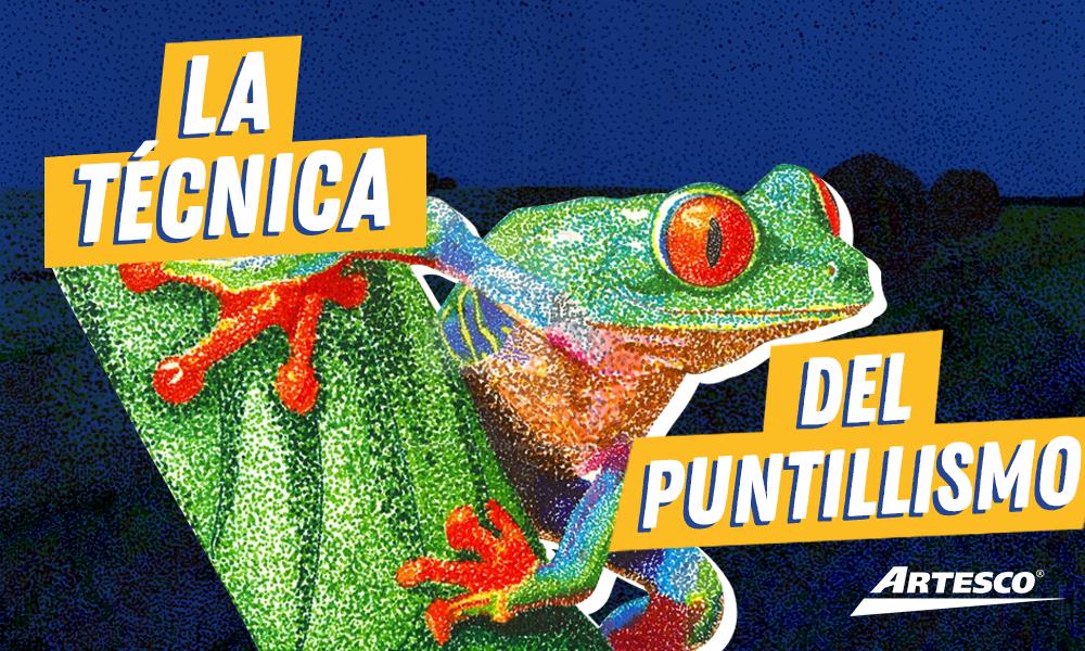 Diy La Técnica Del Puntillismo Artesco