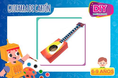 Manualidades | Guitarra de cartón