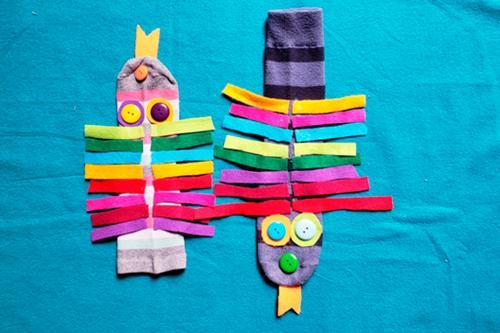 Ideas simples para hacer títeres en casa con los niños
