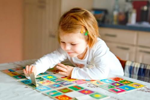 Juegos para reforzar la memoria de tus pequeños