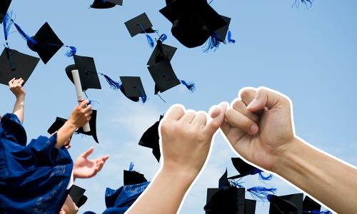 ¿La amistad con tu BFF sobrevivirá después de graduarse?