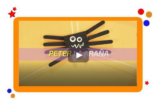 Manualidades | Peter la araña