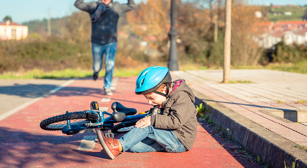 Cómo curar correctamente las heridas de nuestros pequeños hijos
