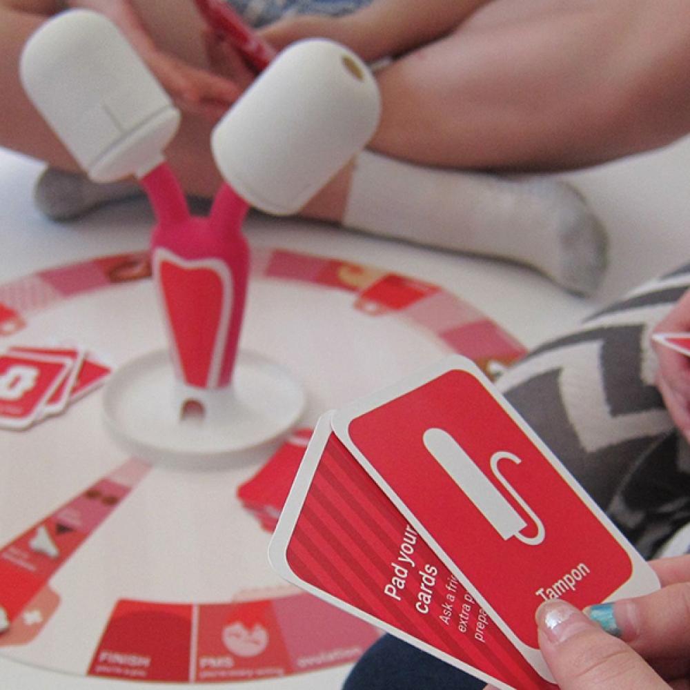 Conoce el juego de mesa que enseña a las adolescentes sobre la menstruación