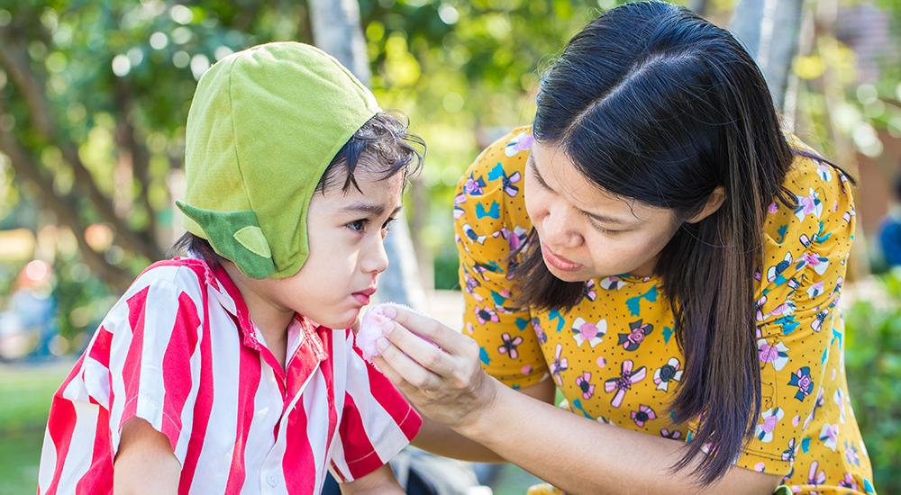 ¿Cómo reaccionar ante un accidente dental de nuestros hijos?