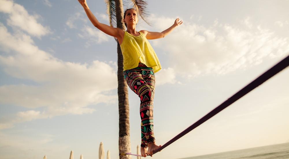 Slackline: más que un deporte, una vida en equilibrio. Descubre dónde y cómo