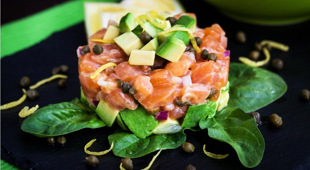 Tartare de atún o salmón
