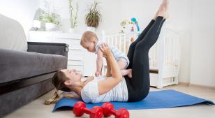 5 ejercicios que puedes hacer con tu bebé