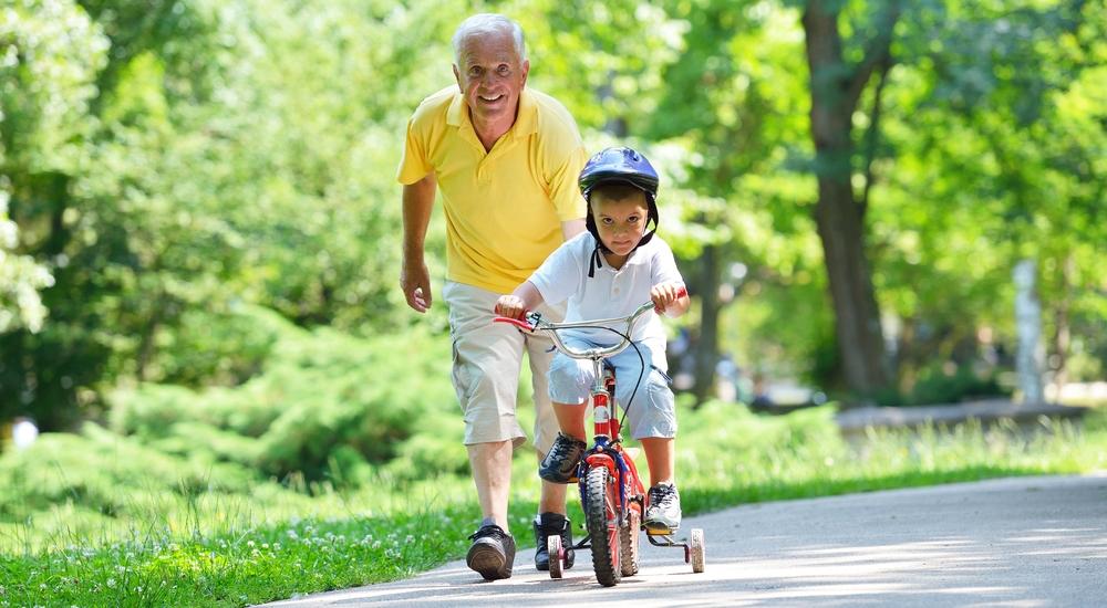 Pasar tiempo con los nietos mejora la calidad de vida
