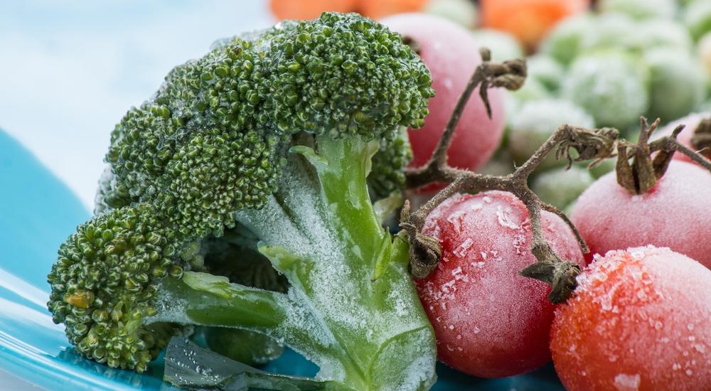 ¿Pueden las frutas y verduras perder su valor nutricional al ser congeladas?