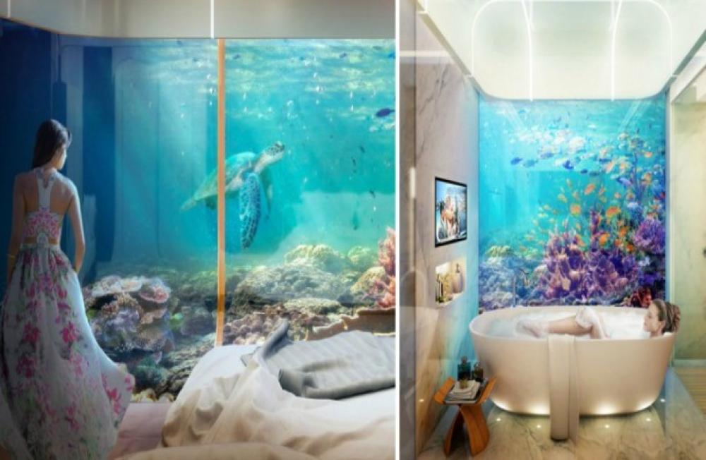 Dub i construir casas extremadamente lujosas en el fondo - Casas en el mar ...