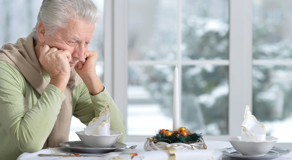 La soledad puede ser mortal para las personas mayores de edad