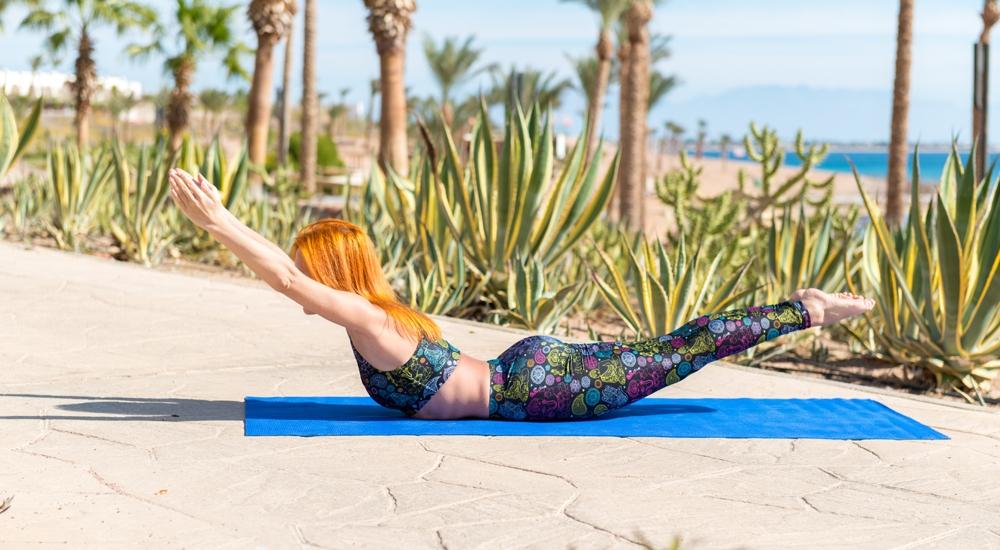 ¿Pilates en la playa? Te enseñamos cinco simples rutinas