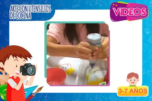 Videos | Artes con utensilios de cocina